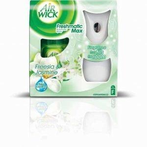 Airwick Freshmatic Max -ilmanraikastinautomaatti + Täyttöpullo 250 Ml