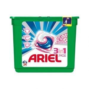 Ariel 3in1 Pods Fresh Sensation Pink Pyykinpesutabletit 24 kpl