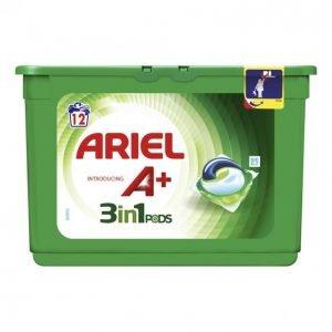 Ariel 3in1 White Pyykinpesunestetabletti 12 Kpl