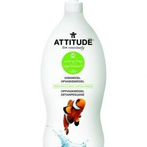 Attitude Astianpesuaine 700 ml Vihreä Omena & Basilika