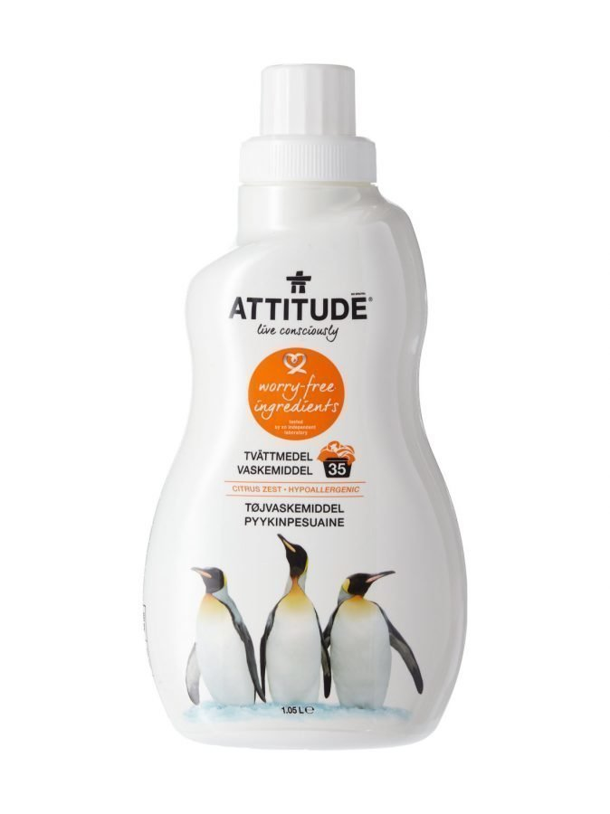 Attitude Pyykinpesuaine Citrus Zest 1050 ml