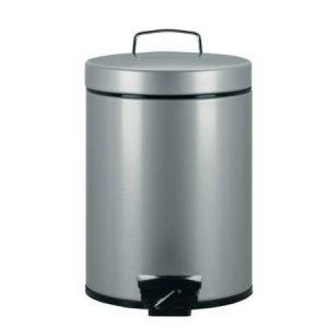 Brabantia Poljinroska-astia 5 litraa metallinharmaa