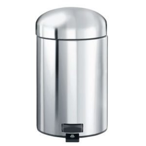Brabantia Retro poljinroska-astia 3 litraa teräs