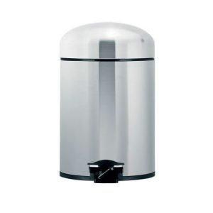 Brabantia Retro-poljinroska-astia 5 litraa harjattu teräs