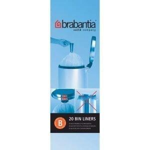 Brabantia Roskapussit 5 litraa
