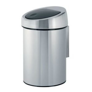 Brabantia Touch Bin roska-astia 3 litraa fingerprint proof
