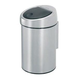 Brabantia Touch Bin roska-astia 3 litraa harjattu teräs