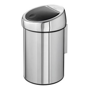 Brabantia Touch Bin roska-astia 3 litraa teräs