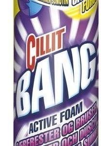 Cillit Bang 600 Ml Kylpyhuonevaahto Lemon