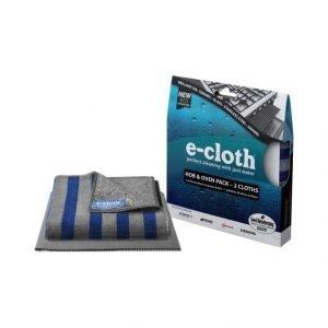 E-Cloth Puhdistusliinasetti Liedelle Ja Uunille
