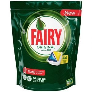 Fairy All In 1 Lemon Konetiskitabletti 44 kpl