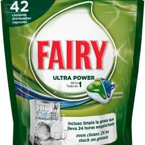 Fairy All-In-1 Original Konetiskitabletti 42 Kpl