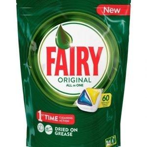 Fairy Original All In 1 Lemon Konetiskitabletti 60 kpl