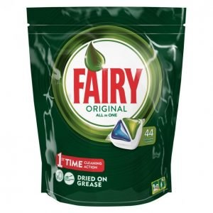Fairy Original Greenall In One Konetiskitabletti 44 Kpl