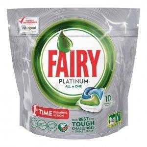 Fairy Platinum Green Konetiskitabletti 10 Kpl