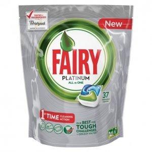 Fairy Platinum Green Konetiskitabletti 37 Kpl