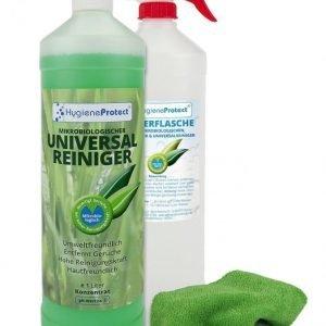 Hygieneprotect Yleispuhdistusainetiiviste 3-Osainen Setti Vihreä