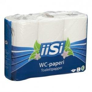 Iisi Wc-Paperi Valkoinen 6 Rullaa