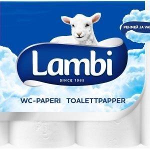 Lambi Toilet 8 Rll Valkoinen
