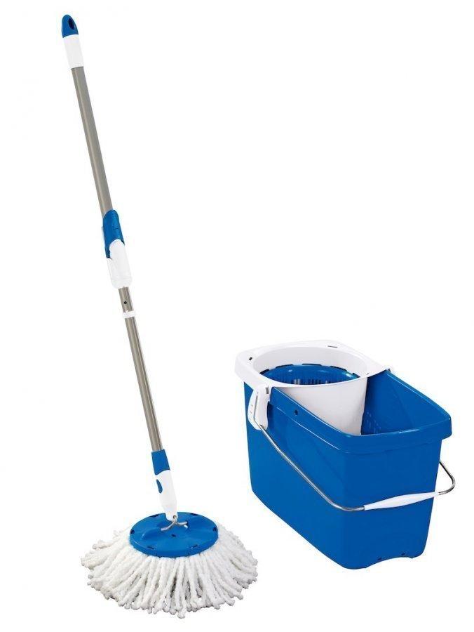 Leifheit Moppisetti Clean Twist Sininen