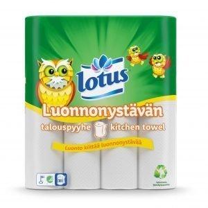 Lotus Luonnonystävän Talouspaperi 16 Rll
