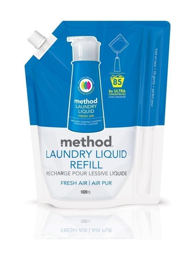 Method Fresh Air Pyykinpesuaine Täyttöpakkaus 1020 ml