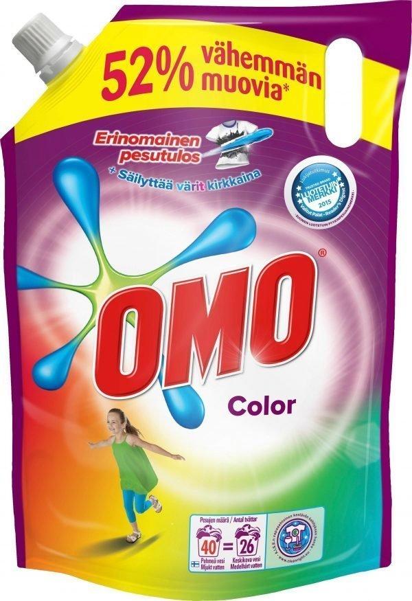 Omo Color 2 L Pyykinpesuaine Täyttöpakkaus