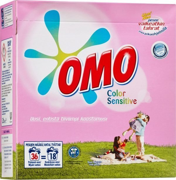 Omo Sensitive Color 1