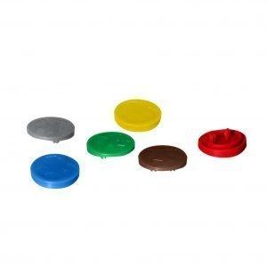 Plast Team Avedore Roskakorin Värinappisetti 6 Kpl