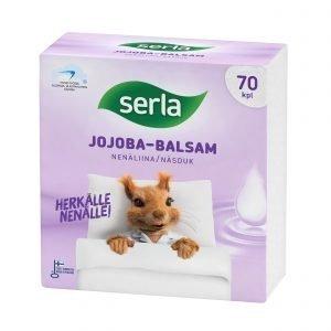 Serla Jojoba Balsam Nenäliina 70 Kpl