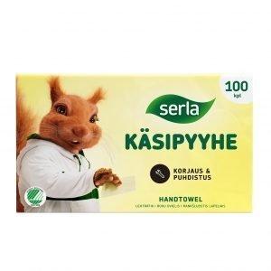 Serla Käsipyyhe 100 Kpl