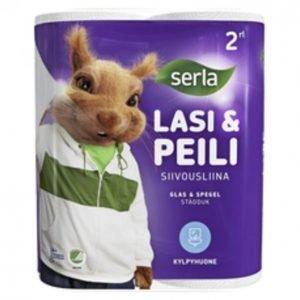 Serla Lasi & Peili Siivousliina 2 Rullaa