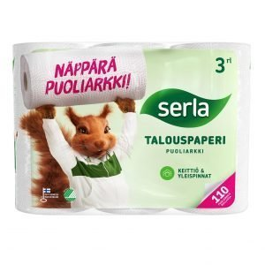 Serla Talouspyyhe Puoliarkki 3 Rll