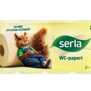 Serla Toilet 8 Rll Keltainen