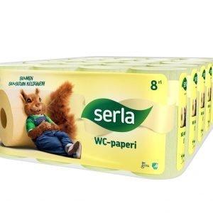 Serla Toilet 8 Rll X 5 Pkt Keltainen