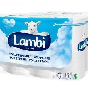 Serla Toilet 8 Rll X 5 Pkt Valkoinen