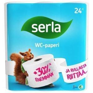 Serla Wc-Paperi 24 Rll Valkoinen