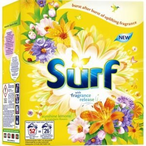 Surf Sunshine Lemons & Mandarin Flowers Pyykinpesujauhetiiviste 1