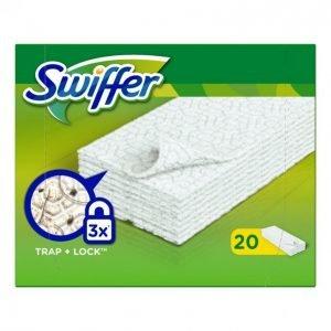 Swiffer Mopin Puhdistuspyyhe Täyttöpakkaus 20 Kpl