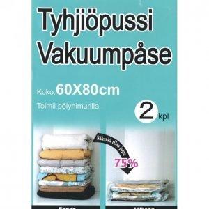 Tyhjiöpussi 60 X 80 Cm 2 Kpl