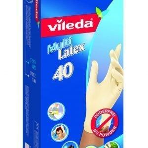 Vileda Multi Latex Kertakäyttökäsine 40 Kpl