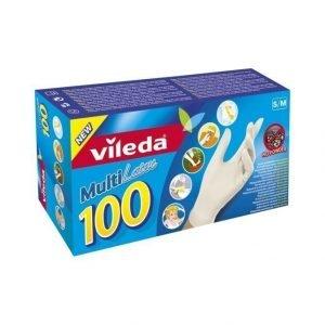 Vileda Multi Latex Kertakäyttökäsineet 100 kpl