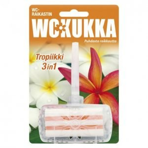Wc Kukka 3in1 Tropiikki Wc-Raikastin 50 G