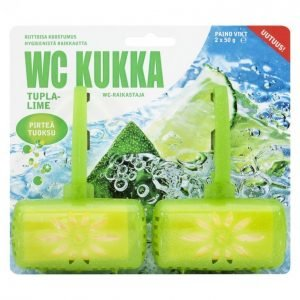 Wc Kukka Lime Wc-Raikastin 2 X 50 G
