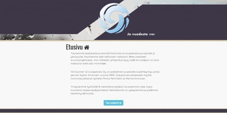 Itä-Suomen Siivouspalvelu Oy