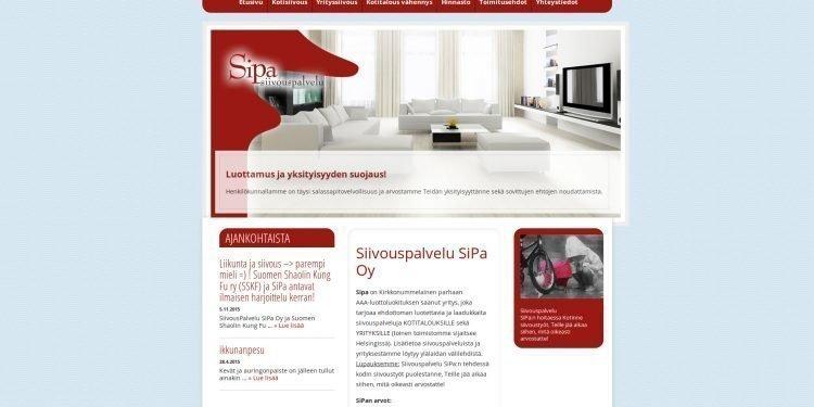 Siivouspalvelu SiPa Oy